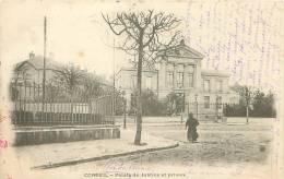 91 - CORBEIL - Palais De Justice Et Prison - Corbeil Essonnes