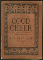 """""""Good Cheer Magazine For Christmas 1871"""" Featuring """"The Neap Reef"""" By 'Mrs Parr', Illustrated By William Small. - Littéraire"""