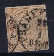 Deutschland: Nordd. Postbezirk Mi  8 Used/cancelled