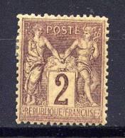 FRANCE  - N° 85* - TYPE SAGE - 1876-1898 Sage (Type II)