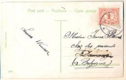 2n141: Fantasiekaartje: N° 51: OOSTBURG > Damme - Periode 1891-1948 (Wilhelmina)