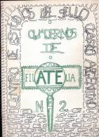 CUADERNOS DE FILATELIA NRO. 2 1972 CESCA CENTRO DE ESTUDIOS DEL SELLO CLASICO ARGENTINO 126 PAGINAS RARISIME AGOTADO - Tijdschriften