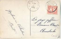 2n168: Fantasiekaartje: N° 51: KOEWACHT > Clemskerke ...is Verstuurd Via D ST.NICOLAAS D - Periode 1891-1948 (Wilhelmina)