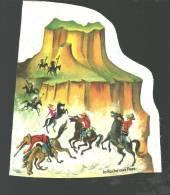 Image à Découper Ou Découpis Les Tuniques Rouges Prises Au Piège Dans Le Grand Canyon - La Roche Aux Fées - Après 1965