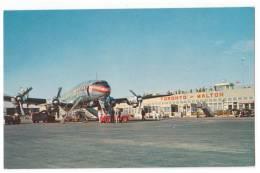 TRANSPORT AERODROME MALTON TORONTO CANADA OLD POSTCARD - Aerodrome