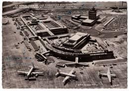 TRANSPORT AERODROME CENTRAL LONDON GREAT BRITAIN BIG CARD OLD POSTCARD - Aerodrome