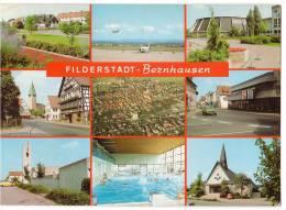 TRANSPORT AERODROME FILDERSTADT BERNHAUSEN STUTTGART GERMANY BIG CARD OLD POSTCARD 1978. - Aerodrome