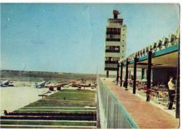 TRANSPORT AERODROME SURČIN BEOGRAD SERBIA YUGOSLAVIA BIG CARD JAMMED OLD POSTCARD - Aerodrome