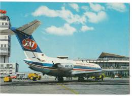 TRANSPORT AERODROME BEOGRAD SERBIA YUGOSLAVIA BIG CARD OLD POSTCARD - Aerodrome