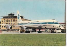 TRANSPORT AERODROME STUTTGART GERMANY BIG CARD OLD POSTCARD - Aerodrome