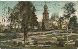 The Dingle Shrewsbury    Shropshire U.K    Post Card  1907 - Shropshire