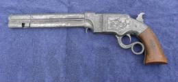 JOUET  -   PISTOLET 1856  A  FLÉCHETTES   CANON  OCTOGONAL  (  Poids  1,335 Kg) - Armes Neutralisées