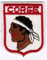 ECUSSON EN TISSU CORSE - Ecussons Tissu