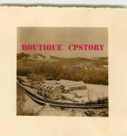 64 - TARDETS < Nationale 618 Route De Sainte Engrace Sous La Neige En 1956 < Photo 7cm X 7.5cm - Dos Scané - Lieux