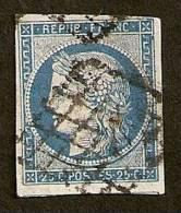 FRAnce  N°4 Oblitéré Grille  TB  à Petit Prix !!!RARE - 1849-1850 Ceres