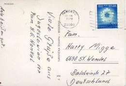 Postal Pancevo 1979 Yugoslavia, , Post Card - Jugoslawien