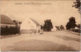 1108 - CPA - MARCK 62 Pas De Calais -  Animée  Entrée Vers Gravelines - Calais