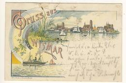 WISMAR - 1897 , Gruss Aus ... - Deutschland
