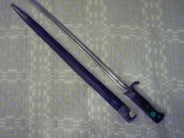 ( 128)   Allemagne, Baionnette 1898 2ème Type - Knives/Swords