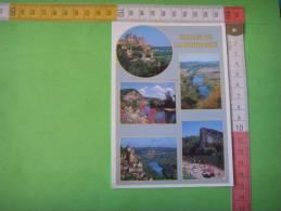 89) Vallee De La Dordogne: Beynac ,domme, La Roque Gageac,castelnaud,le Caudon :multivues - Francia