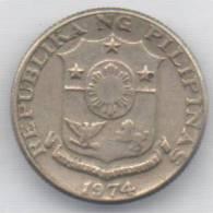 FILIPPINE 10 SENTIMOS 1974 - Filippine