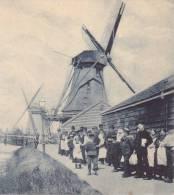 CPA - MOLENS - Aan De Zaan - Moulin à Vent - Pays-Bas