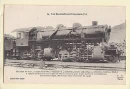 Train  Les Locomotives Françaises Est 74 - Treinen
