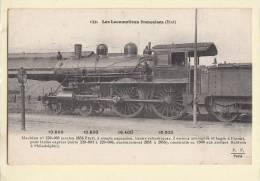 Train  Les Locomotives Françaises état 132 - Treinen