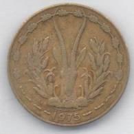 BANQUE CENTRALE ETATS DE L´AFRIQUE DE L´OUEST 10 FRANCS 1975 - Monete