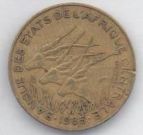 BANQUE CENTRALE ETATS DE L´AFRIQUE DE L´OUEST 10 FRANCS 1985 - Monete