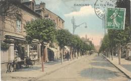 CABOURG : Rue De La Mer (scan Dos) - Cabourg
