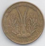 BANQUE CENTRALE ETATS DE L´AFRIQUE DE L´OUEST 25 FRANCS 1978 - Monete