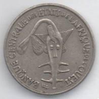 BANQUE CENTRALE ETATS DE L´AFRIQUE DE L´OUEST 50 FRANCS 1975 - Monete