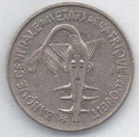 BANQUE CENTRALE ETATS DE L´AFRIQUE DE L´OUEST 100 FRANCS 1975 - Monete