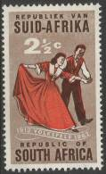 South Africa. 1961 50th Anniv. Of Volkspele In South Africa. 2 1/2c MNH SG 221 - South Africa (1961-...)