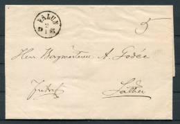 1865 Sweden Falun Entire