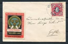 1909 Sweden Art Industries Exhibition Cinderella Cover