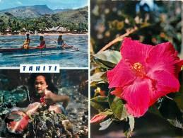 TAHITI LAGON TAHITIEN ET FLEUR D'HIBISCUS - Tahiti