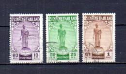 Tailandia    1955  .-   Y&T   Nº     292/294 - Tailandia