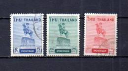 Tailandia    1955  .-   Y&T   Nº     295/297 - Tailandia