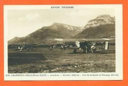 """Dpt  73  Chambery - Challes Les Eaux   """"  Aviation - Nivolet - Col De La Doria Et Pennay  """" - Chambery"""