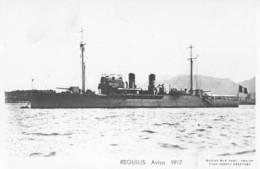 Aviso REGULUS (Marine Nationale) - Carte Photo éd. Marius Bar  - Ship/bateau/schiff - Guerra