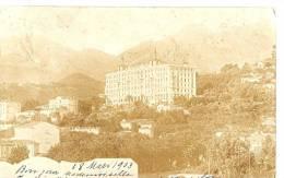 Carte Photo  Hotel Envoyé De Menton à Nice - Menton