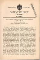 Original Patentschrift - John Stephens In Vernon , Wilbarger County , 1900 , Umlaufende Maschine , Texas !!! - Tools