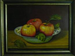 Appels - Quentana - Olieverf
