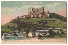 63 MUROLS Château Côté Renaissance, Hameau De La Chassagne (gravure Colorisée) - Non Classés