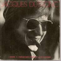 """45 Tours SP - JACQUES DUTRONC - GAUMONT 751809 - """" L´HYMNE A L´AMOUR """" + 1 - Vinyles"""