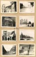 75 PARIS - 8 Photos Des Années 1950 - Photo 5 Cm X 5.5 Cm - Places