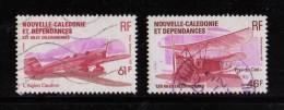 Nelle CALEDONIE 1983- N° PA 230 Et 231 Oblitérés Les Ailes Le Pou Du Ciel-  L´Aiglon Caudron . 46-61fr - Sin Clasificación