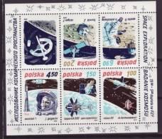 Polonia - 1979 - Spazio - Nuovo - Mi Block 80 - Space